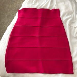 BCBG bandage/power skirt